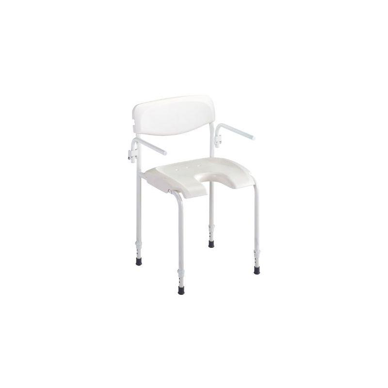 chaise de douche alize invacare sanetis. Black Bedroom Furniture Sets. Home Design Ideas
