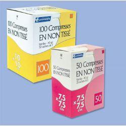 COMPRESSES EN NON -TISSE STERILE 40 G EUROMEDIS
